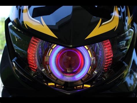 Lu Led Soul Gt my yamaha mio soul gt with angle hid xenon