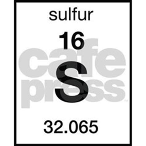 Periodic Table Sulfur by Sulfur Periodic Table Postcards Sulfur Periodic Table Post Card Design Template