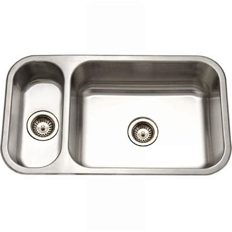 Knop Panci Stainless Mt 31 houzer elite series undermount stainless steel 32 in basin kitchen sink ehd 3118 1 the