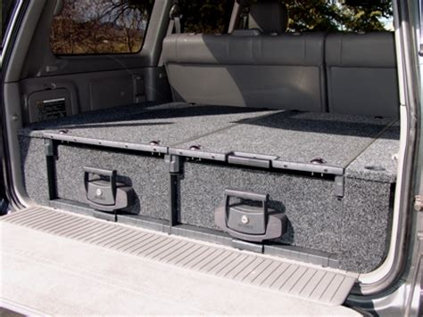 slee suv storage drawer system details