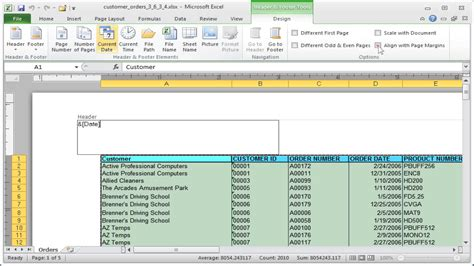 change date format in excel 2007 header insert static date and time in excel 2010 convert date
