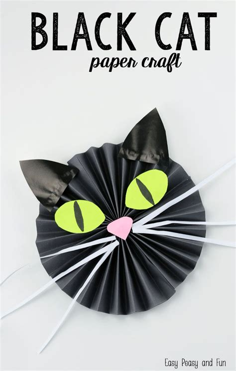 Black Cat Papercraft - black cat paper craft black cats easy peasy and craft