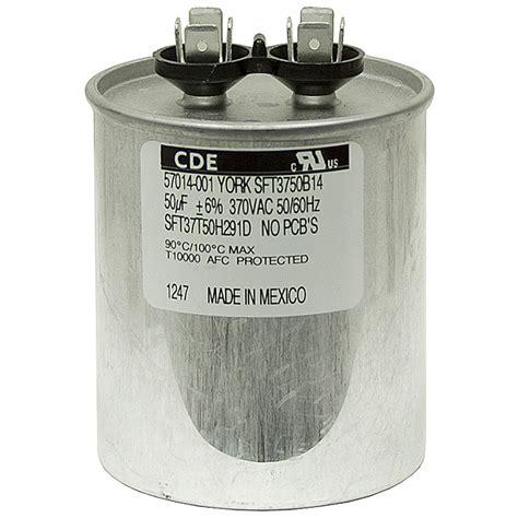 50 mfd ac motor run capacitor 50 mfd 370 vac run capacitor cde sft37t50h291d f motor run capacitors capacitors