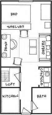 Studio Loft Apartments 450 Sq Ft Floor Plans A Houseful Of Style In 200 Square Feet Editor Style And