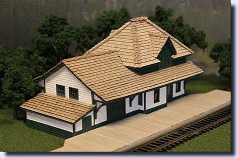 scale model house plans ho n o and oo scale model building plans for railroads and dioramas