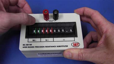 iet resistor box eevblog 130 the 181 calc credit card scientific calculator computer eevblog