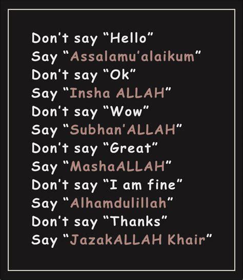 a new muslim 6 greetings in islam