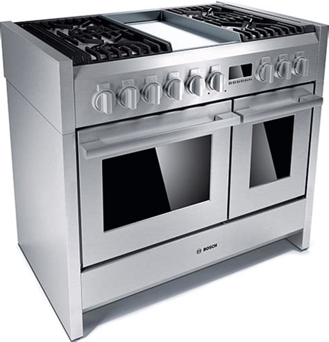 stoves kitchen appliances bosch range stainless steel solitaire cooker