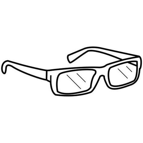 Eyeglasses Coloring Pages | eye glasses coloring sheets eyeglasses pages for kids