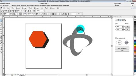 tutorial membuat logo xl corel draw cara membuat logo telkomsel di coreldraw youtube