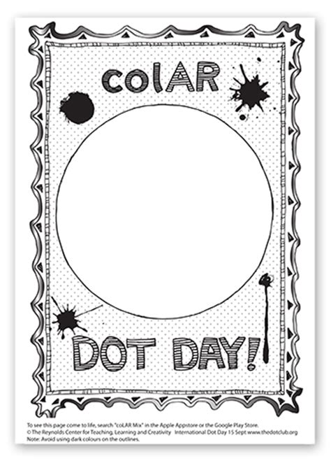 colar app coloring pages dot day fun watch your dot come to life in amazing 3d in