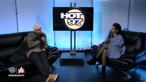 chris brown stops by 97 to talk getting past