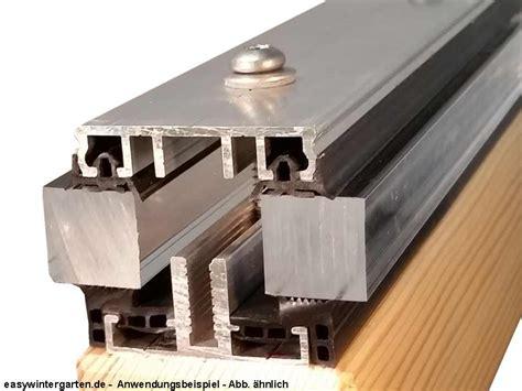 klemmprofile glasdach verlegeprofil mittelprofil komplettprofil 60 mm f 252 r vsg