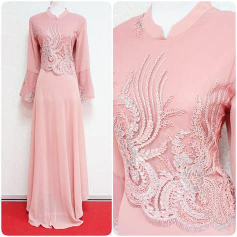 fesyen baju kurung moden untuk bentuk badan pear azidah baju kurung empire