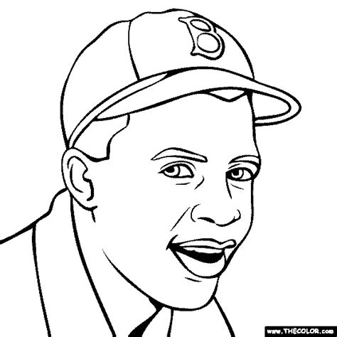 coloring page for jackie robinson online coloring pages starting with the letter j