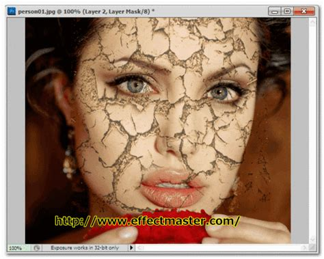 photoshop cs5 tutorial cracked face photo manipulation free photo editing effects master effetcs how to create