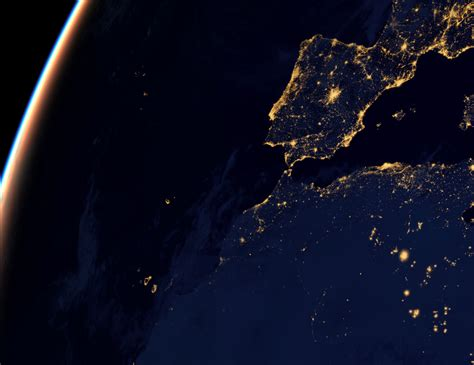 imagenes satelitales nocturnas de la tierra la tierra de noche astronom 237 a eureka