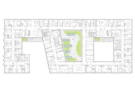 mental hospital floor plan gallery of kronstad psychiatric hospital origo