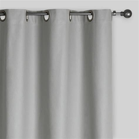 Slate Gray Curtains Slate Gray Grommet Top Curtain World Market
