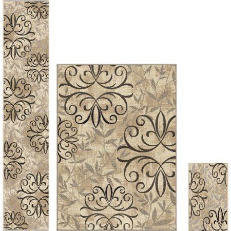 Better Homes And Gardens Iron Fleur Area Rug by Better Homes And Gardens Iron Fleur 3 Area Rug Set