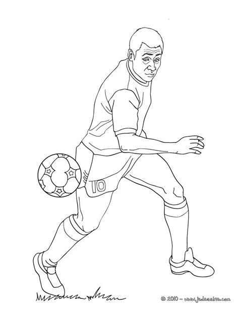 dessin de foot de ronaldo coloriages pel 233 fr hellokids com