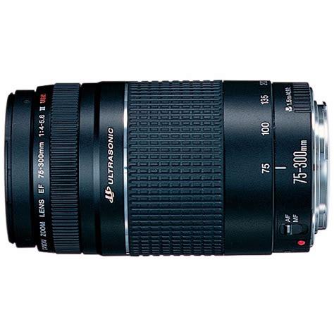 Canon Ef 75 300mm F 4 5 6 Iii canon ef 75 300mm f 4 5 6 iii usm telephoto zoom lentes