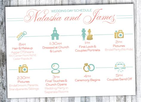 wedding timeline template wedding timeline template 35 free word excel pdf psd