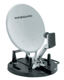 winegard rd9046 portable 18 inch satellite dish antenna with lnbf rd 9046 from solid signal