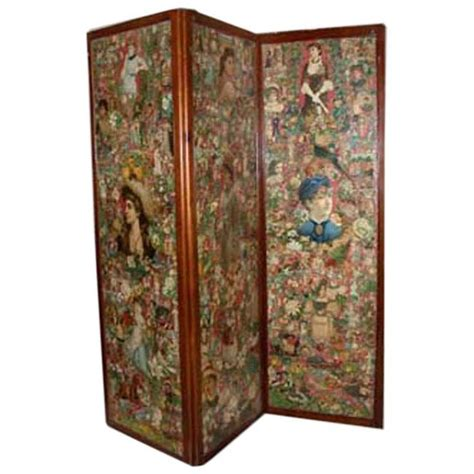 Decoupage Screen - 17 best images about furniture on ebay