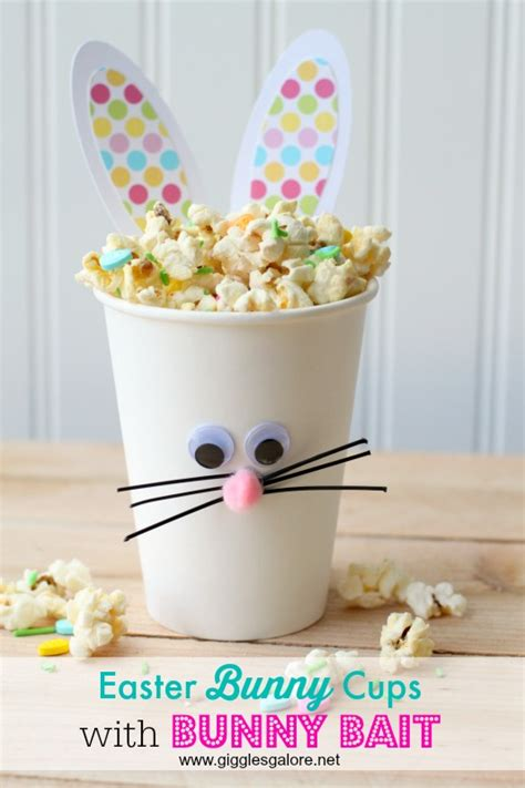 Diy Home Decor Project Ideas Easter Bunny Cups And Bunny Bait