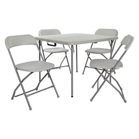 resin table and chairs office resin 5 folding chair and table set 4