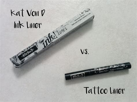 tattoo liner sizes versus kat von d liquid liner ink and tattoo i m not a