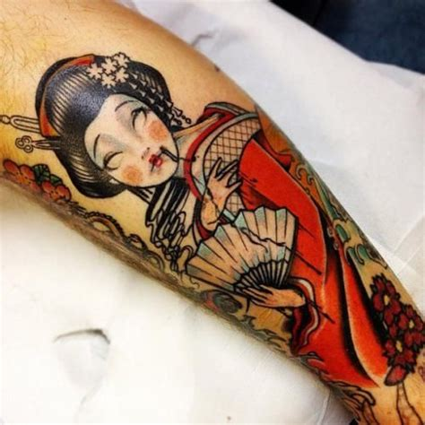 tattoo geisha pin up geisha tattoo tattoomodels tattoo tattoos pinterest