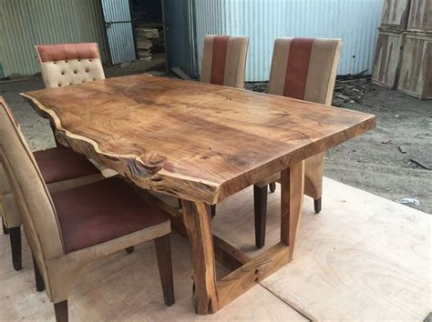 sundara live edge table acacia live edge dining tables