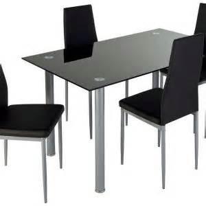 chaise salle a simili cuir noir chaise id 233 es de