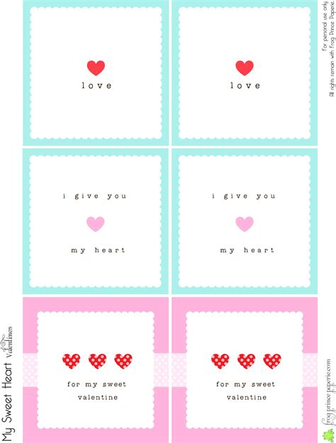printable love note cards free valentine s lunch box notes simple valentines