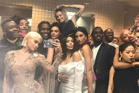 kendall jenner bathroom kylie jenner broke rules with this star studded selfie