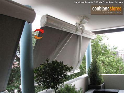 Comment Couvrir Un Balcon Ouvert by Store Banne Ou Store Vertical Droit Pour Un Balcon D