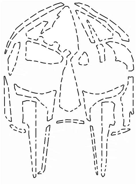 template of doom style mf doom o lantern