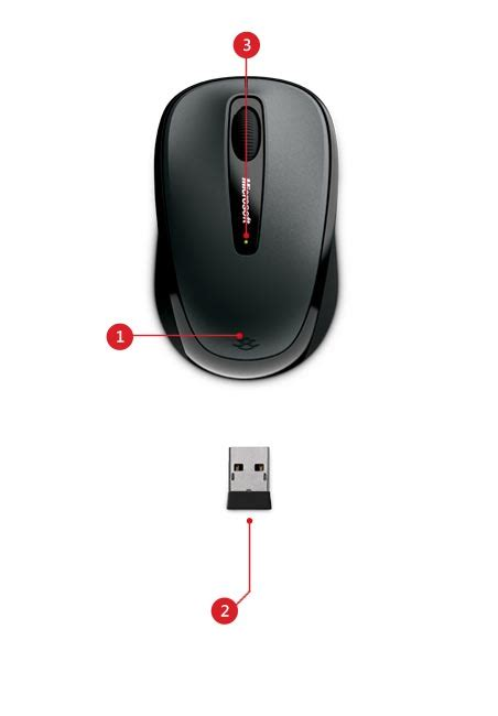 Mouse Wireless Model Mobil Mini wireless mouse 3500 microsoft accessories