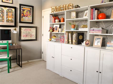 organized home office 12 home office organization ideas hgtv