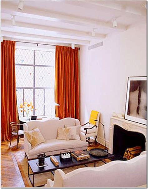 Burnt Orange Velvet Curtains Through The Eye Of Design Velvet Curtains
