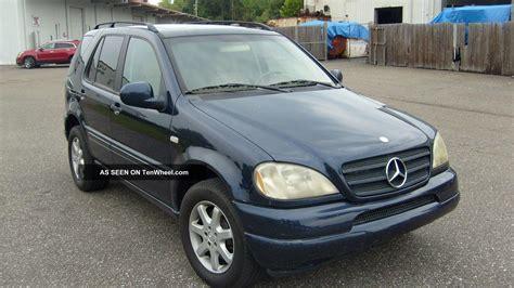 2000 mercedes ml430 2000 mercedes ml430 ac brakes