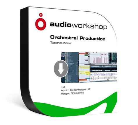 tutorial video production dvd lernkurs orchestral production tutorial video