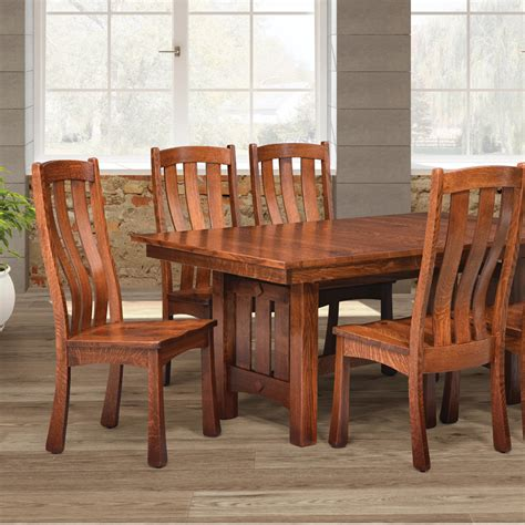 mission style dining room table home ideas pinterest mission craftsman style furniture vermont woods studios