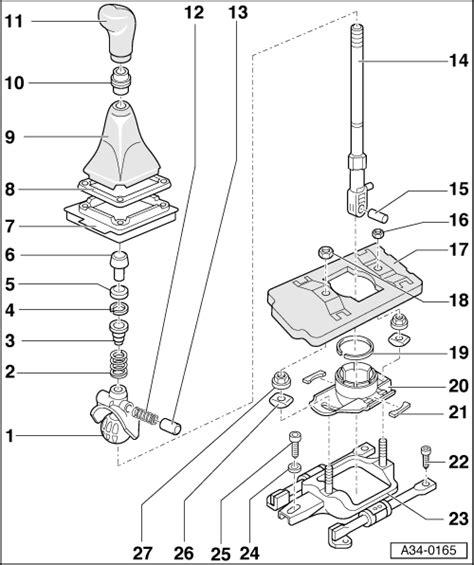 1996 audi cabriolet gear shift mechanism service manual 1997 audi a4 gear shift mechanism audi shift mechanism