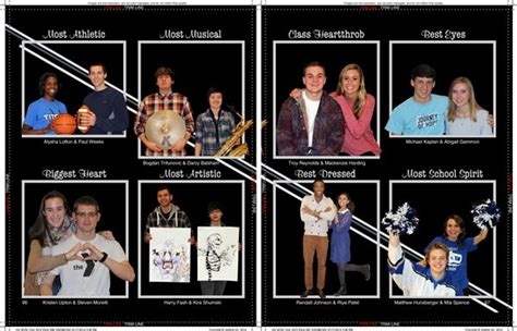 yearbook superlatives layout yearbook exles of layouts