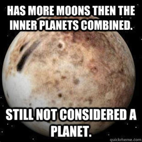 Planet Meme - pluto planet memes pics about space