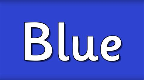 blue color song blue is the color of the day children s song learn