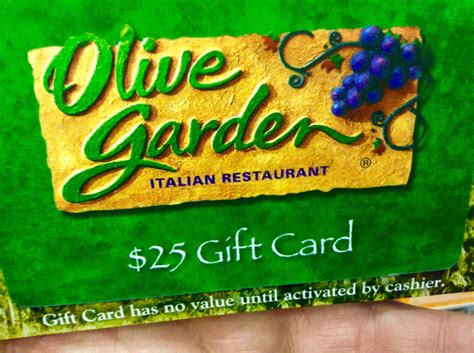 Olive Garden Gift Card Costco - olive garden gift card discount home outdoor decoration